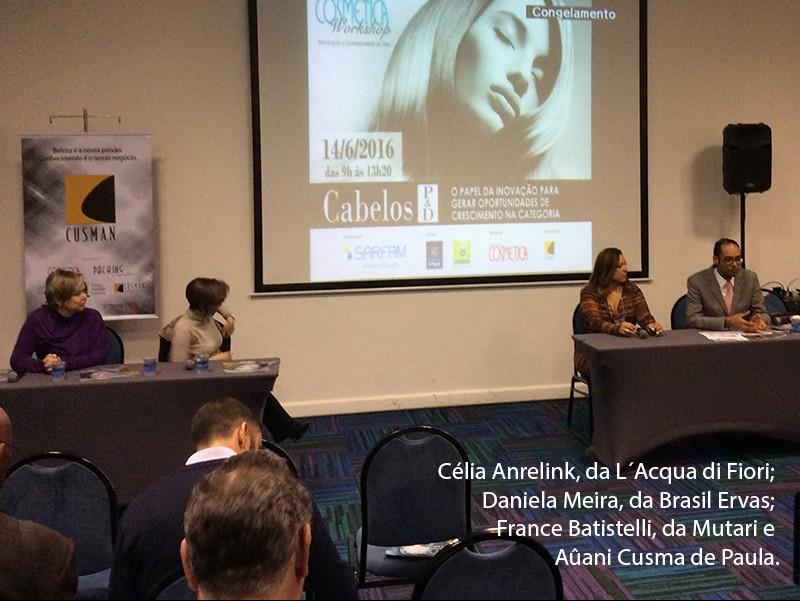 Atualidade Cosmética Workshop em Belo Horizonte debateu sobre inovação e diferenciação na categoria de cabelos