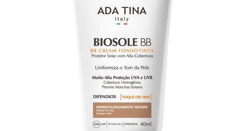 Adatina lança Biosole BB FPS 60, Filtro Solar Vegano com ação anti-idade e proteção contra luz azul do celular
