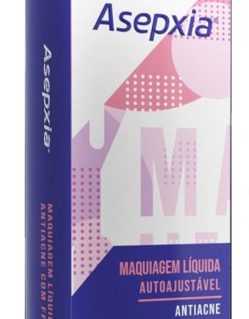 Asepxia lança Maquiagem Líquida Autoajustável