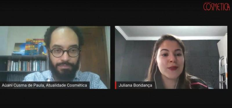 Atualidade Cosmética Especialistas - Juliana Bondança - Factor/Kline