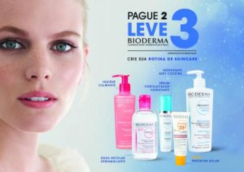 Bioderma lança promoção leve 3 pague 2