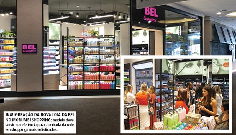 Cartão de visitas - BEL Cosméticos inaugura loja no Morumbi Shopping