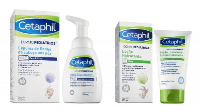 Cetaphil lança no Brasil a linha Cetaphil Dermopediatrics