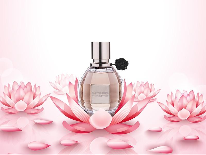 Clássicos da Perfumaria - Flowerbomb, Viktor&Rolf : Bomba de rosas