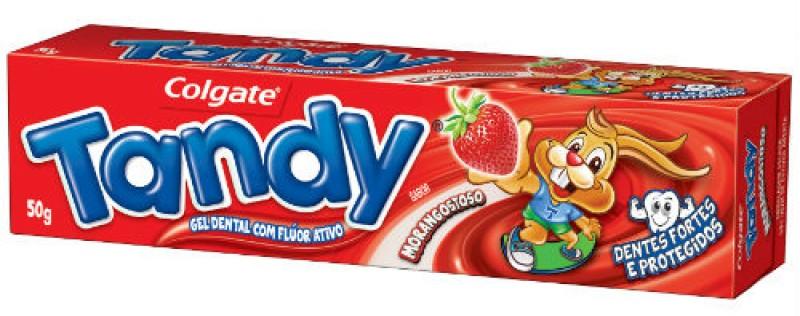 Colgate relança Tandy