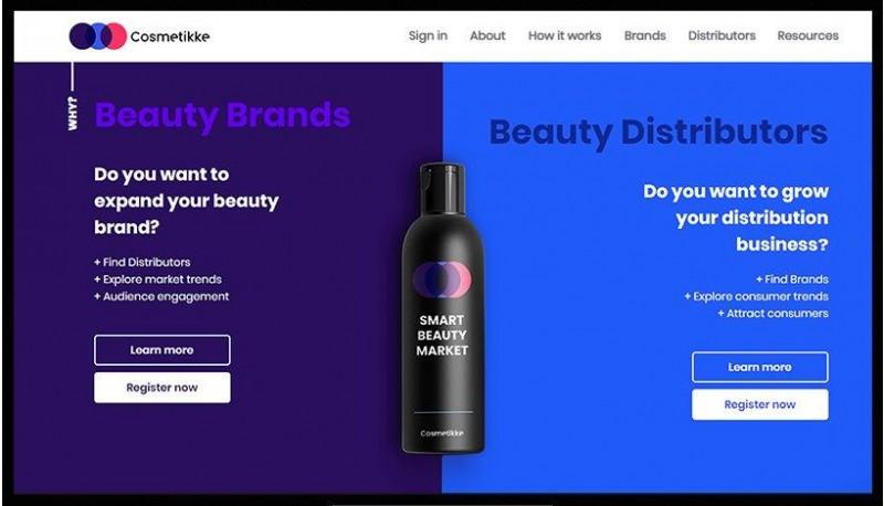 Cosmetikke vai conectar marcas e distribuidores de cosméticos