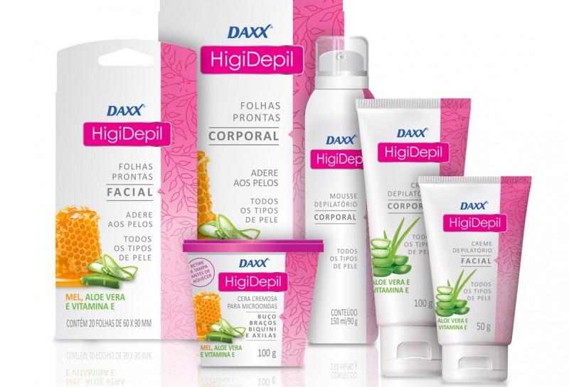 Daxx entra no segmento de depilatórios