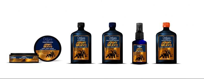 Dellara lança linha de produtos para cabelos masculinos