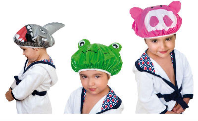 Descontração não vai faltar na hora do banho das crianças com a marca Ricca