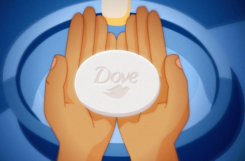 Dove convoca outras marcas de sabonete para reforçar a importância de lavar as mãos