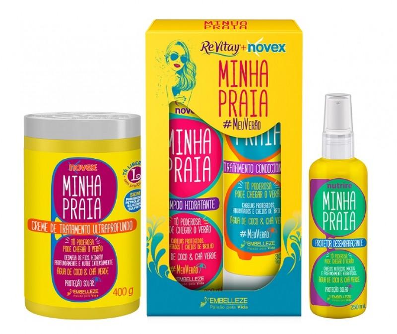 Embelleze adiciona quatro novos produtos à Linha Novex Minha Praia