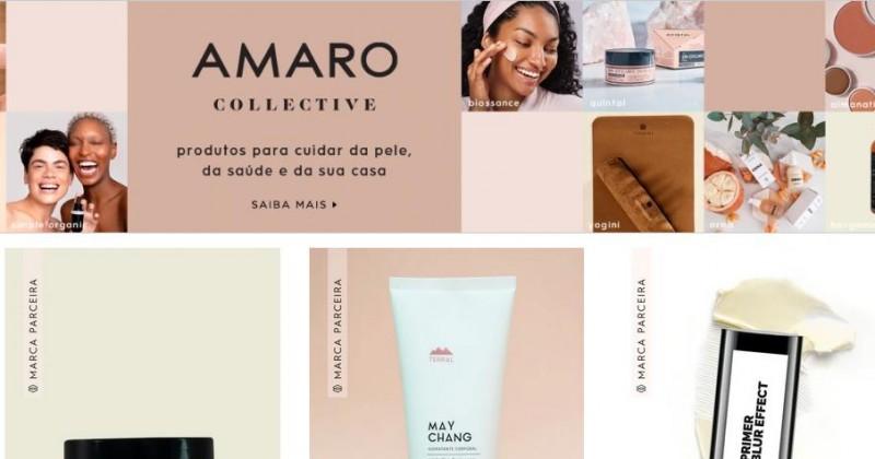 Fashiontech AMARO abre sua plataforma para marcas de beleza
