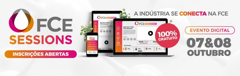 FCE Cosmetique apresenta FCE Sessions, seu evento digital