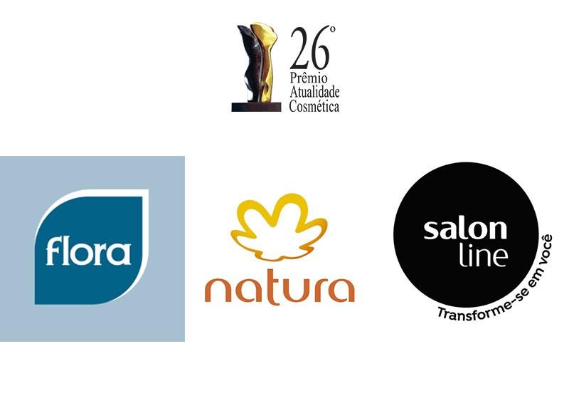 Flora, Natura e Salon Line são indicadas para concorrer ao Troféu Atualidade Cosmética/Patrus de Empresa do Ano