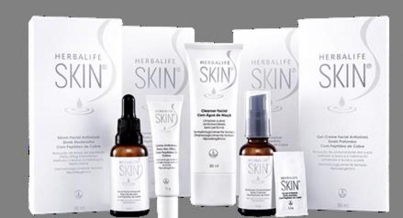 Herbalife lança linha de cuidados com a pele do rosto
