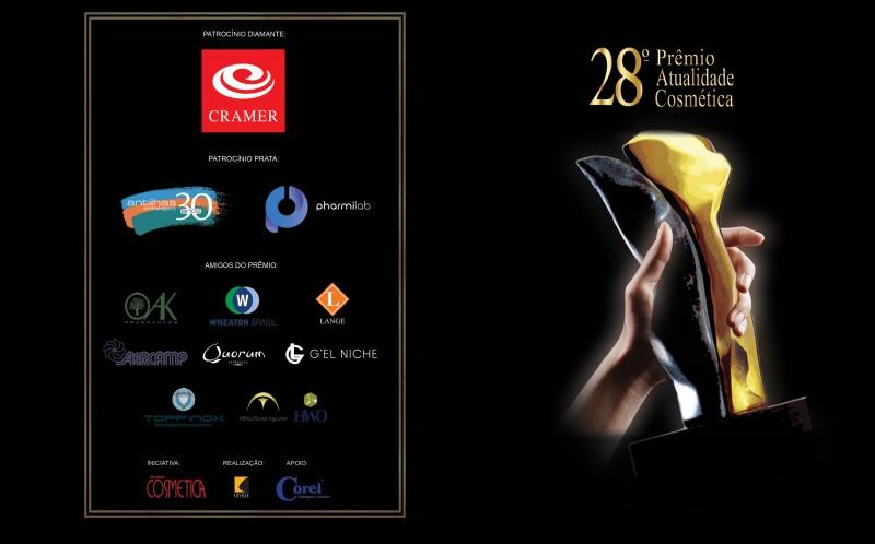 Hoje, as 17h, tem o anúncio dos vencedores do Prêmio Atualidade Cosmética