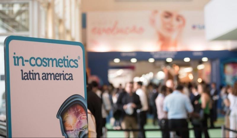 in-cosmetics Latin America 2019 abre credenciamento