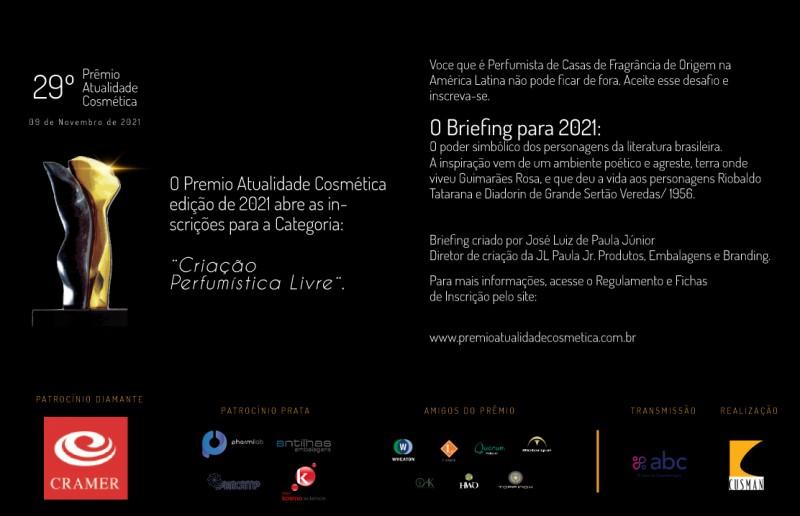 José Luiz de Paula Jr, o Fundador do Prêmio Atualidade Cosmética, conta sobre os seus objetivos em lançar o evento.