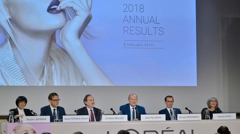 L'Oréal fecha 2018 próxima dos 27 bilhões de euros em vendas
