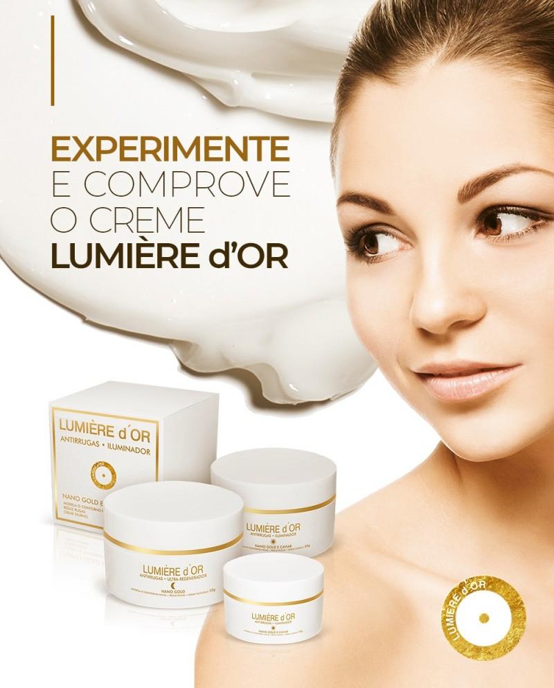 Lumière chega ao Brasil com cremes faciais
