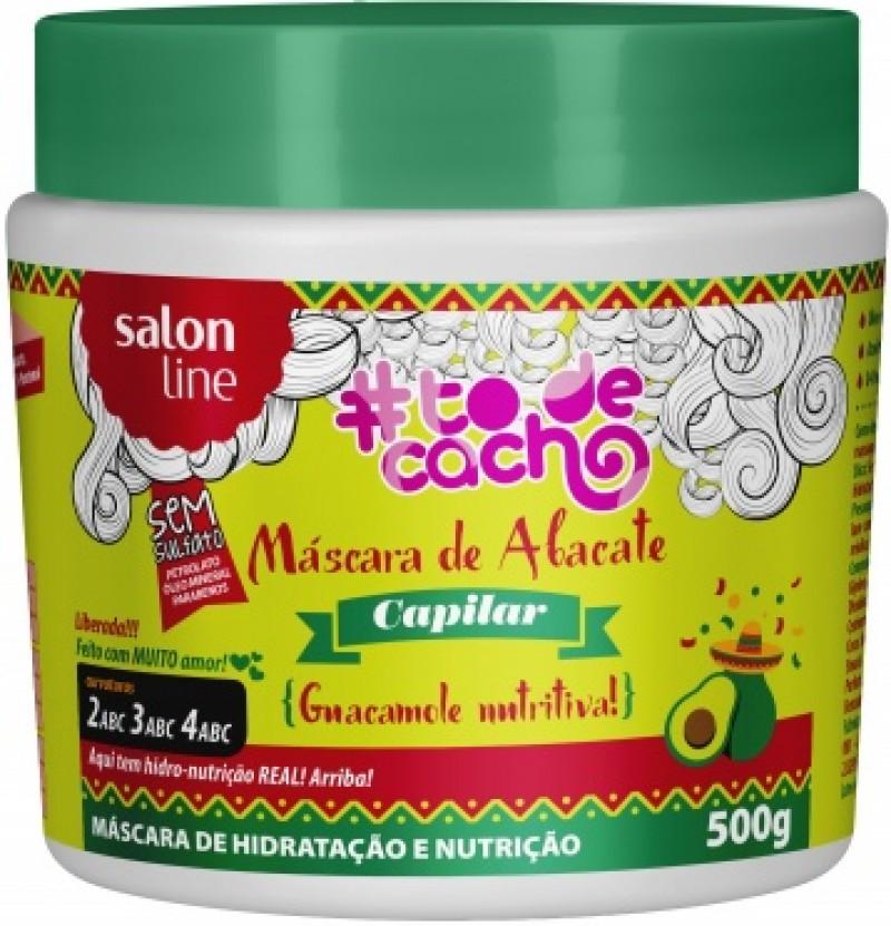 Máscara de Abacate  é o novo lançamento de Salon Line