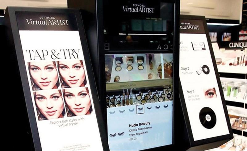 Maquiagem: Tecnologia  como solução