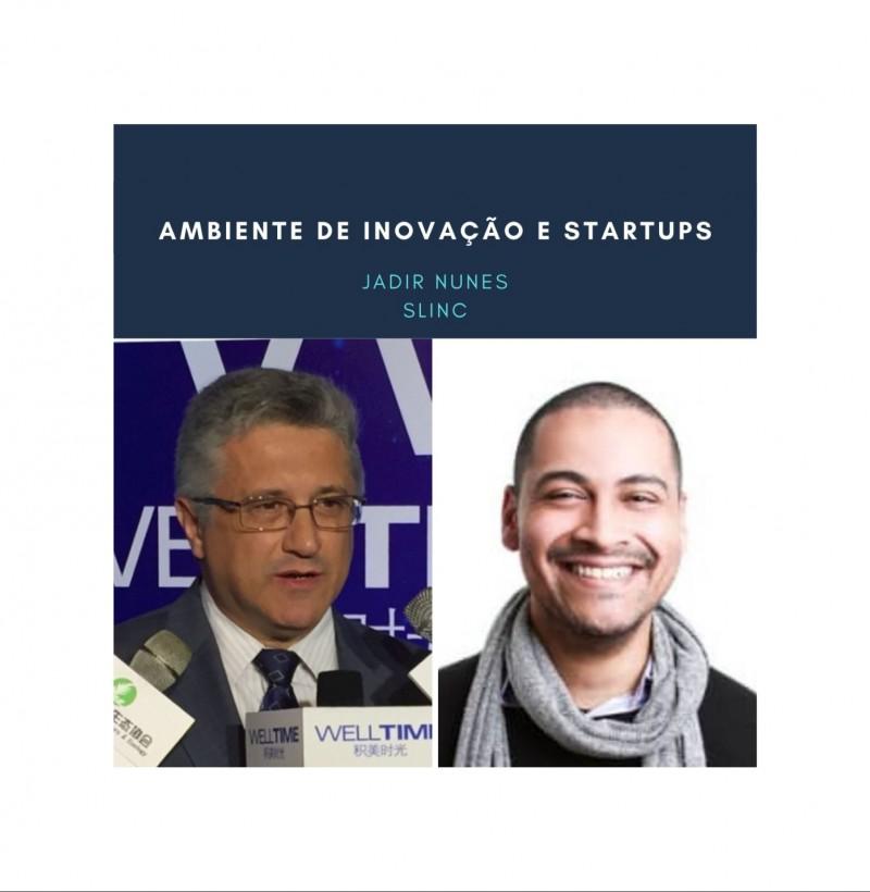 Maratona - conceito de marca live # 12 inovação e startup com Jadir Nunes