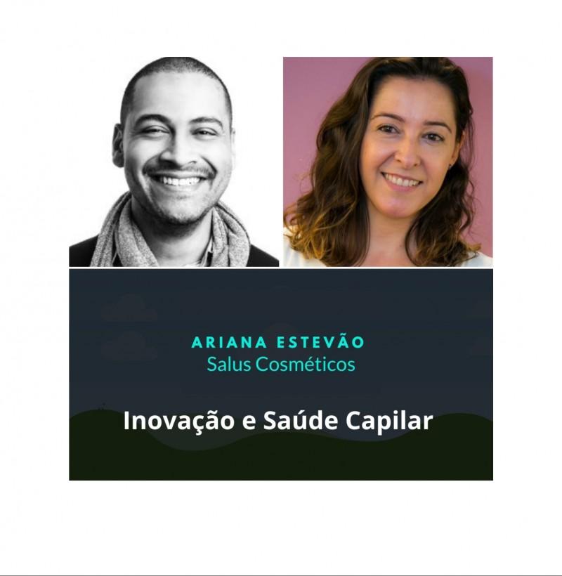 Maratona - conceito de marca live #7 inovação e saúde capilar com Ariana Estevão