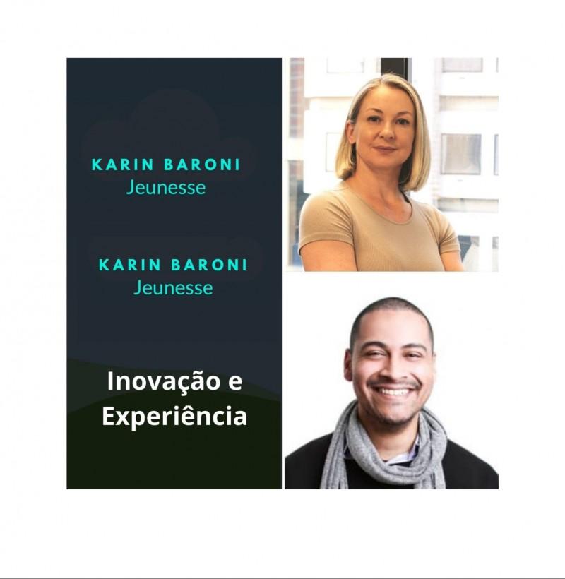Maratona - conceito de marca live #8 inovação e experiência com Karin Baroni