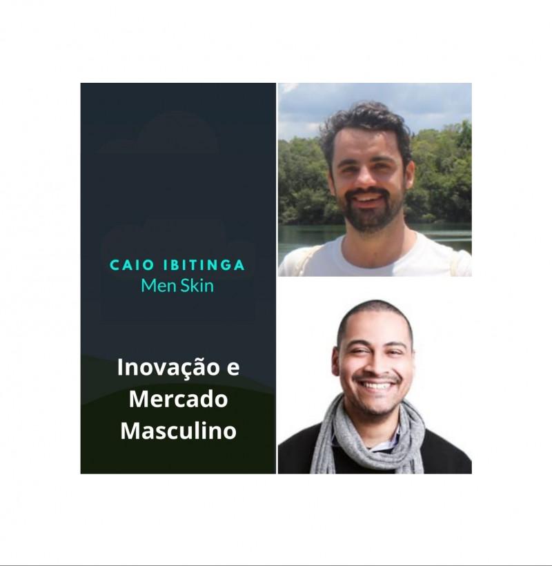 Maratona - conceito de marca live #9  inovação e mercado masculino de beleza com Caio Ibitinga