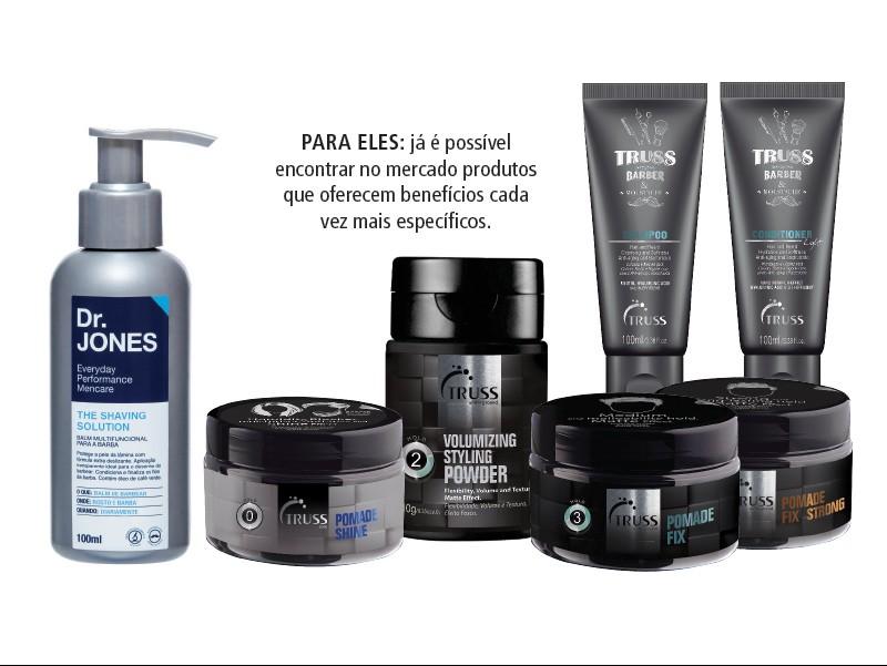 Mercado masculino: Barba, cabelo e... pele