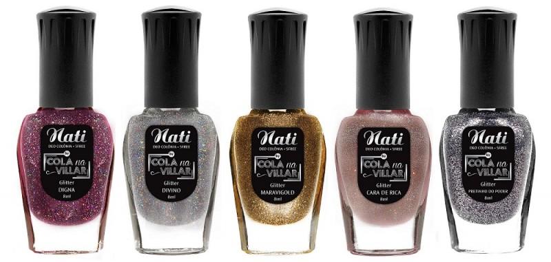 Nati lança coleção de Ultra Glitters em parceria com a Youtuber Ana Paula Villar