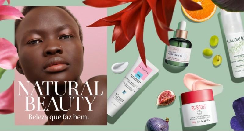 Nova campanha da Sephora foca em beleza natural