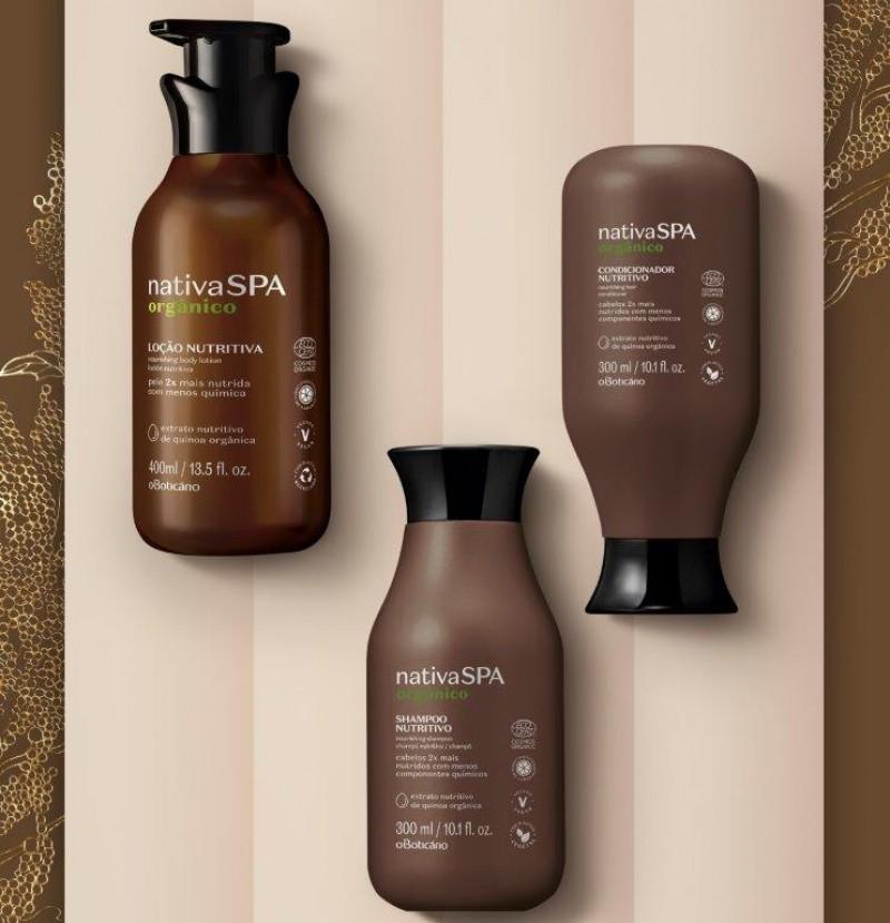 O Boticário apresenta Nativa SPA Orgânico, sua primeira linha de produtos orgânicos certificados