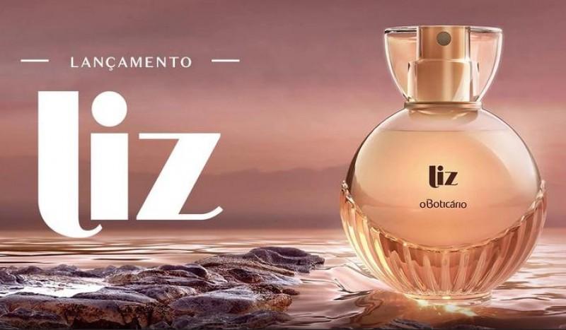 O Boticário usa base de Laire na criação de Liz, seu novo perfume feminino