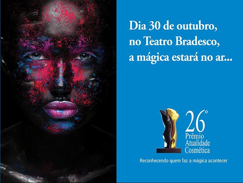 Os produtos masculinos finalistas do Prêmio Atualidade Cosmética 2018