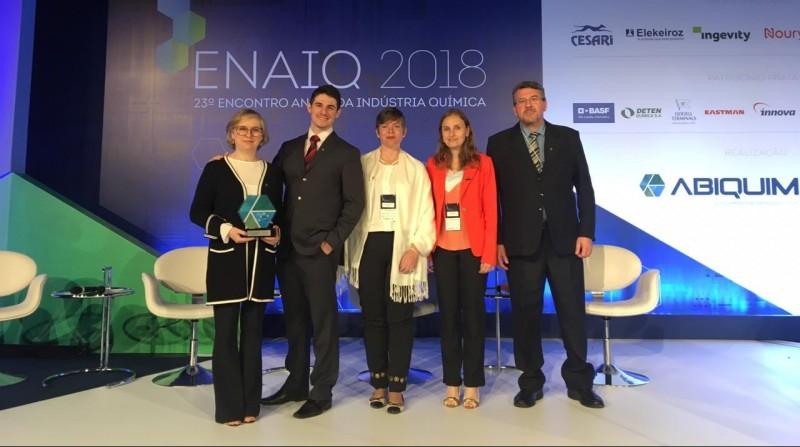 Oxiteno vence pela sexta vez o Prêmio Kurt Politzer de Tecnologia e Inovação