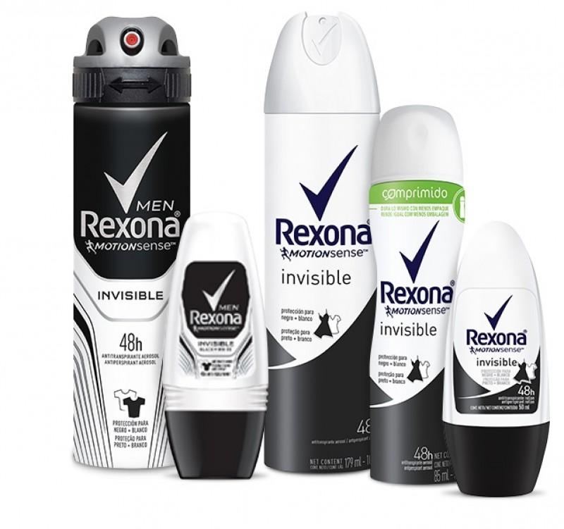 Para proteger contra manchas e transpiração, Rexona Invisible é lançado
