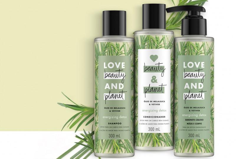 Primeira marca de beleza criada pela Unilever em mais de uma década, Love Beauty and Planet chega ao Brasil