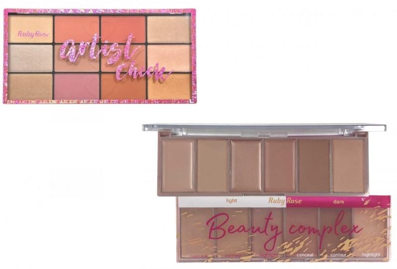Ruby Rose lança duas novas paletas de maquiagem