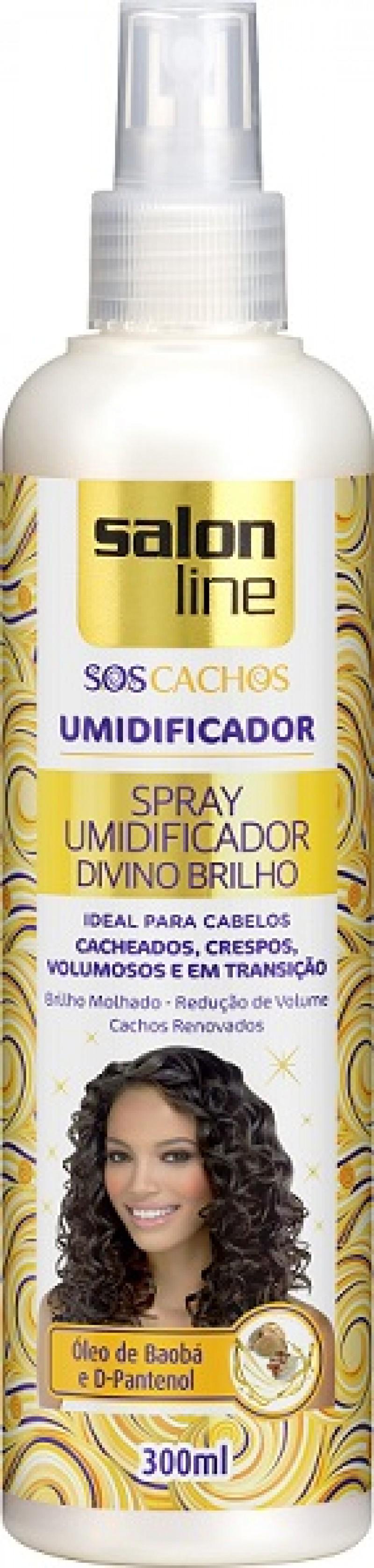 Salon Line anuncia spray umidificador para cachos