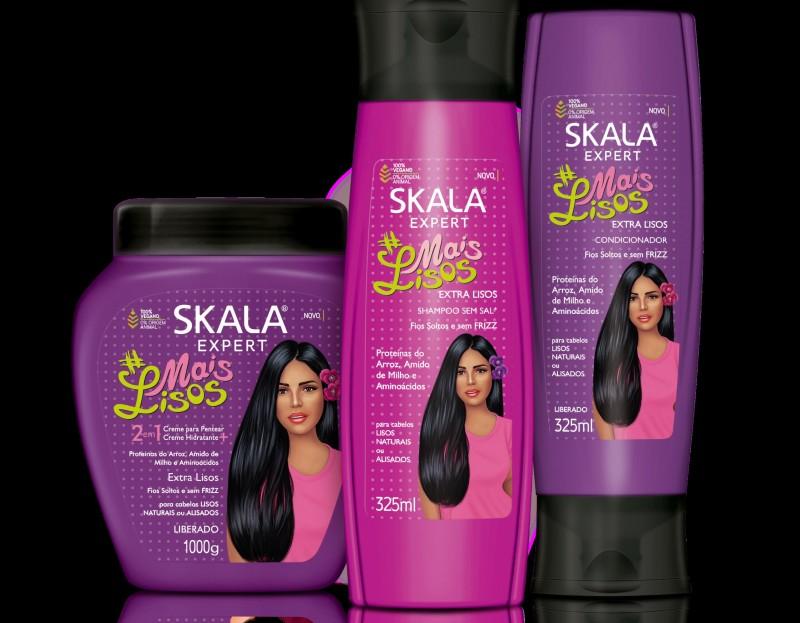 Skala apresenta nova linha #Mais Lisos