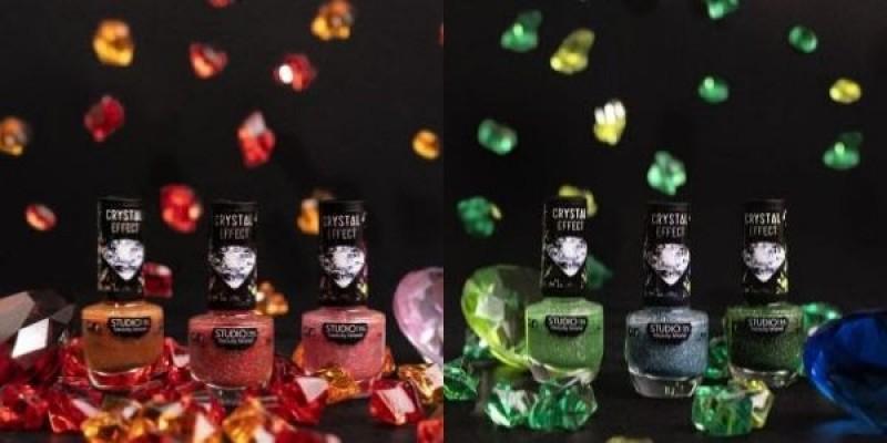 Studio 35 amplia coleção de esmaltes Crystal Effect com muito mais brilho