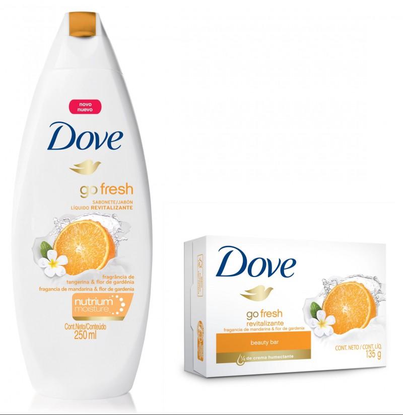 Tangerina & Flor de Gardênia é a nova fragrância de Dove
