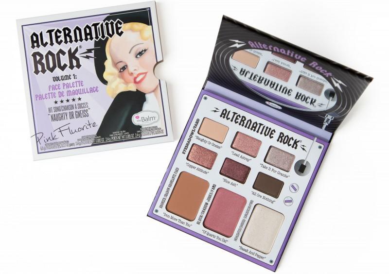 theBalm lança duas novas paletas de maquiagem inspiradas no visual Rock