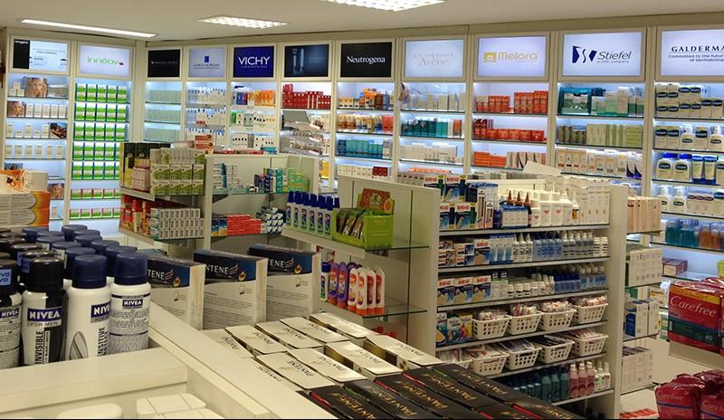Vendas de não-medicamentos nas grandes redes de farmácias crescem 12,93% no primeiro trimestre
