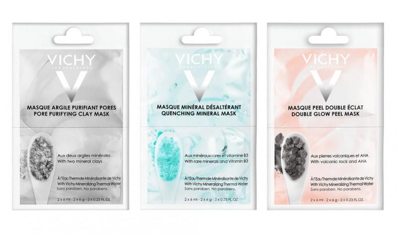 Vichy lança nova geração de máscaras faciais