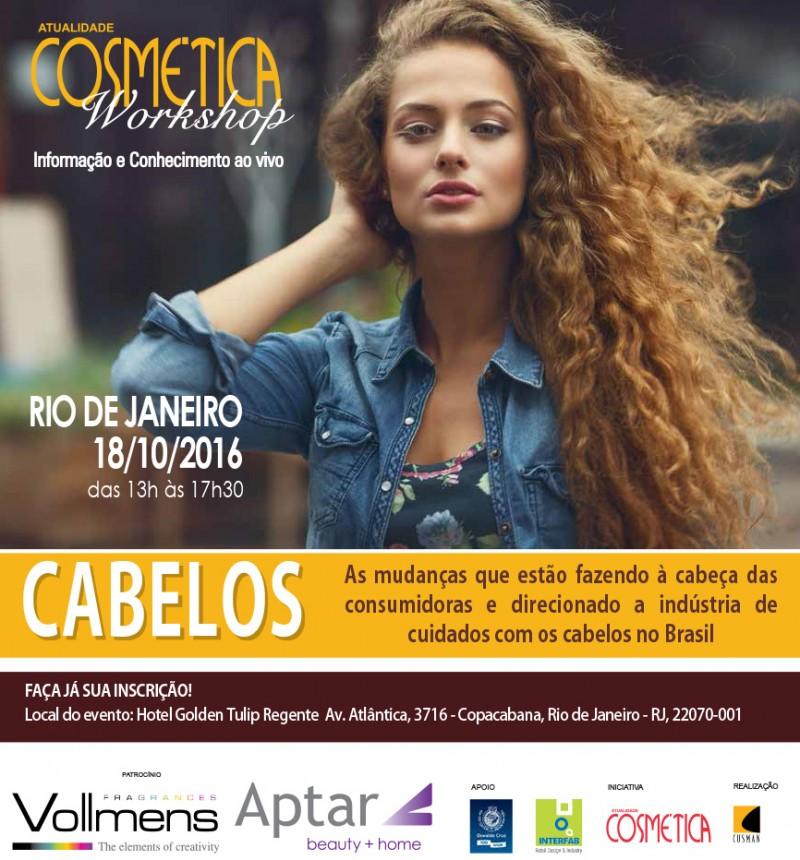 Workshop Atualidade Cosmética - Cabelos Rio de Janeiro