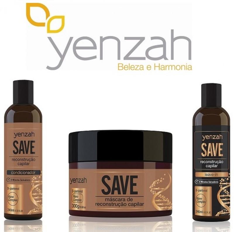 Yenzah reformula linha SAVE e traz novo ativo de nanotecnologia